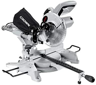 Scie a onglet glissante 2000w-255mm Crown