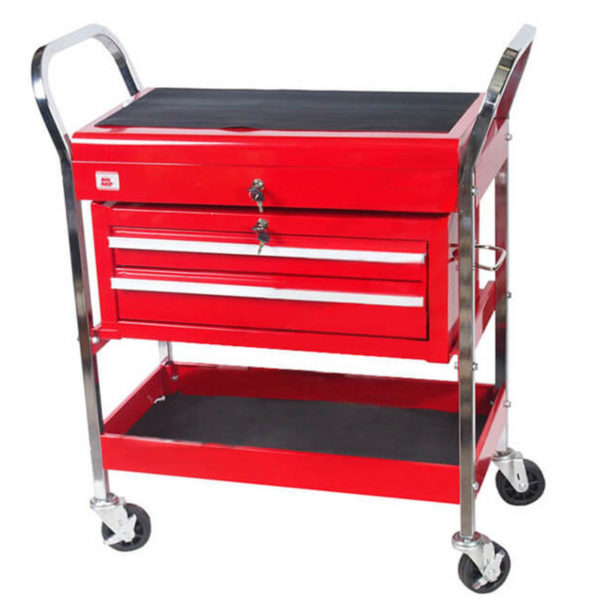 CHARIOT AUXILIAIRE 30″ 2 TIROIRS BIGRED